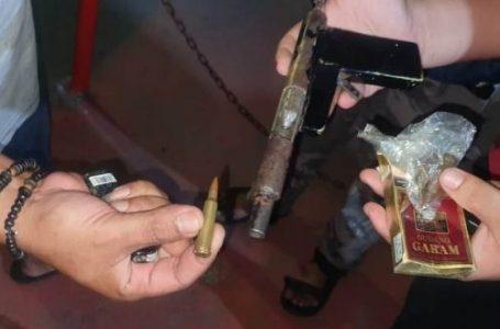 Polisi Sita Senjata Api Rakitan dan Lima Butir Peluru Dari Dua Risidivis