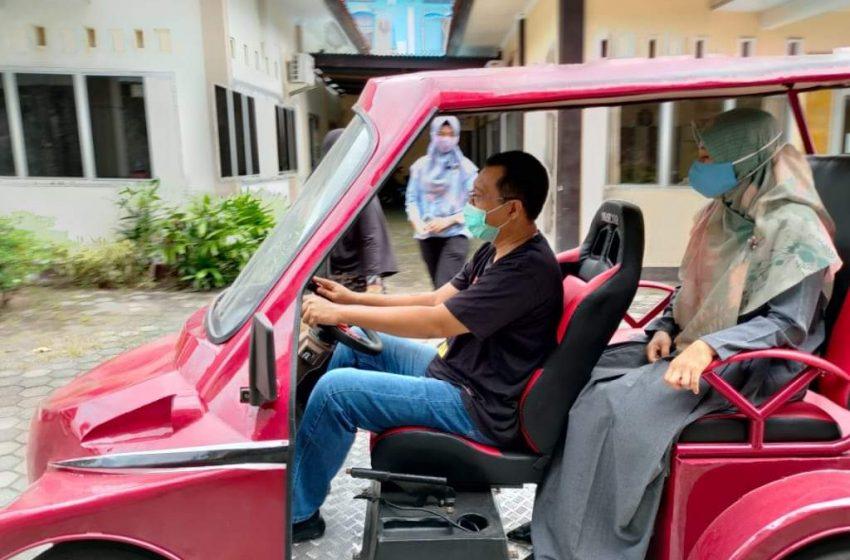 Mobil Listrik Buatan Anak NTB Masih Tahap Penyempurnaan