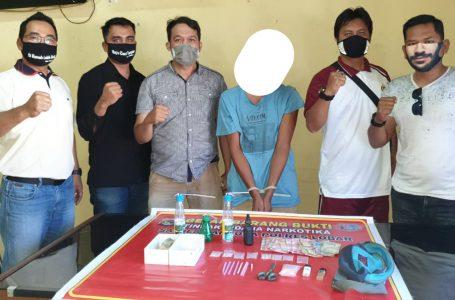 Bisnis Sabu, Seorang Petani di Lombok Barat Ditangkap Polisi