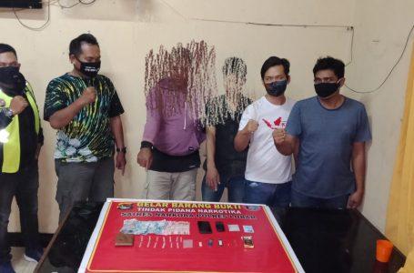 Miliki 14 Klip Sabu, Dua Pria Disergap Polisi Lombok Barat