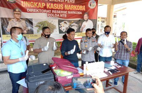 Bongkar Sindikat Lintas Provinsi, Polda NTB Amankan 2,98 Kilogram Sabu