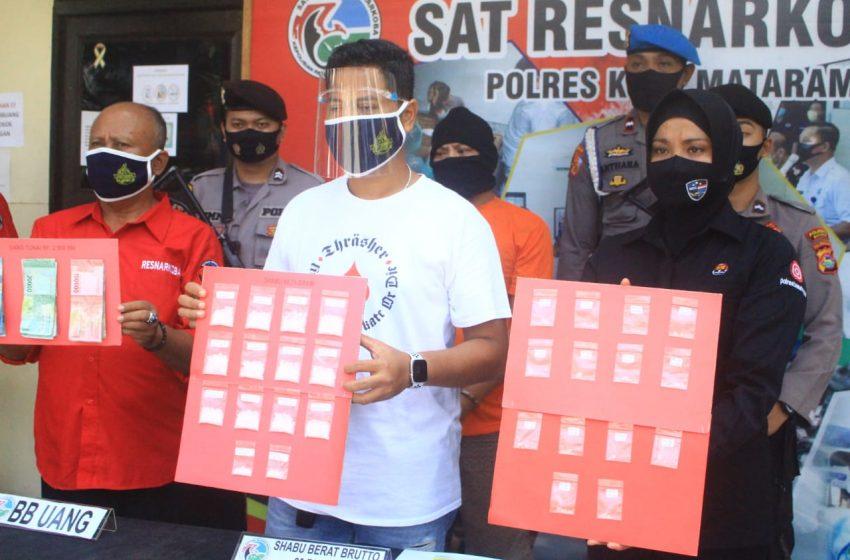 Modus Jual Kue, Polisi Ringkus Bandar Sabu