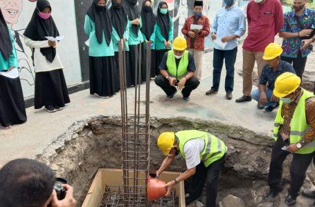 Telan Anggaran Miliaran, Masjid Al-Muflihun SMAN 2 Sumbawa Mulai Dibangun