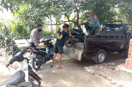 Judi Sabung Ayam Digerebek, 2 Ayam Jago 12 Sepeda Motor Diamankan