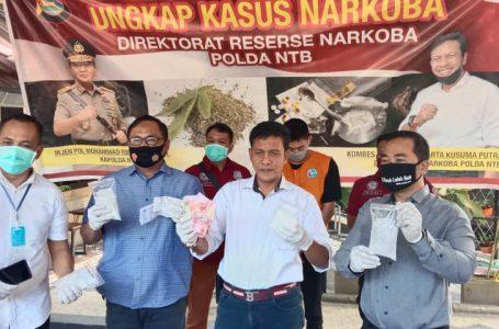 Polda NTB Tangkap Pengedar Narkoba Lintas Provinsi