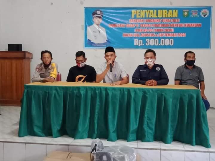 Pemdes Batu Bulan Rampungkan Penyaluran BLTDD Tahap II