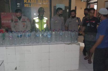Remaja Mabuk Meresahkan, Puluhan Botol Miras Disita Polisi