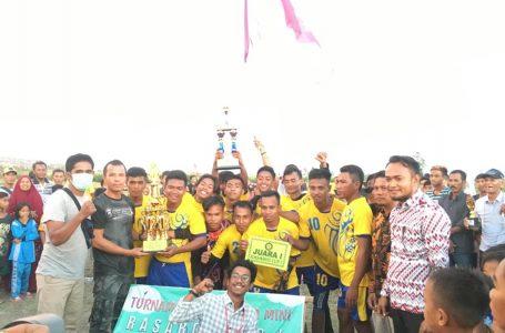 Rasabou Cup Berakhir, Bala FC Sabet Juara I