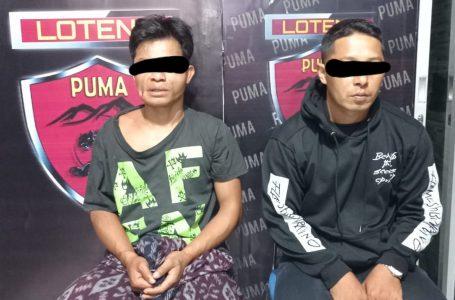 Polres Lombok Tengah Bekuk Dua Pelaku Curat