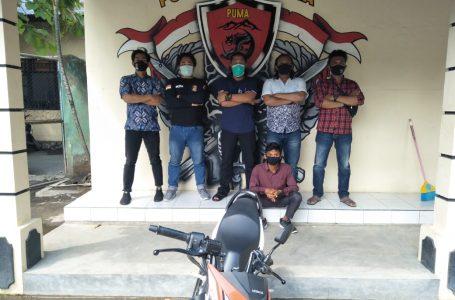 Mahasiswa Nekat Curi Motor di Kampus, Tak Sadar Aksinya Terekam CCTV
