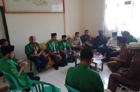 Bahas Kemitraan, GP Ansor Bertemu Unsur Muspika di Sape