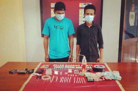 Diduga Edar Sabu dan Ganja, Dua Pemuda di Sape Diamankan