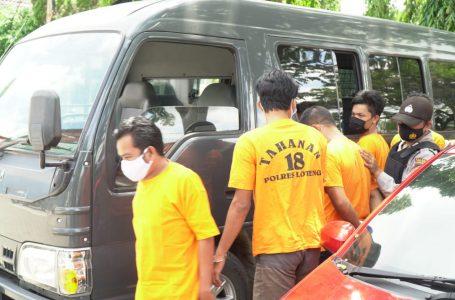Polres Lombok Tengah Ringkus 9 Penjahat dalam Dua Pekan