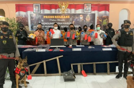 Beraksi di 67 TKP, Komplotan Maling Paling Meresahkan di Mataram Diringkus