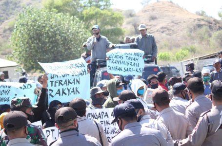Masyarakat Poto Tano Tuntut Pengembalian Hak Atas Tanah yang Dikuasi PT BHJ