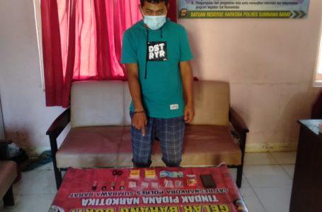 Miliki Sabu, Honorer di Sumbawa Barat Ditangkap