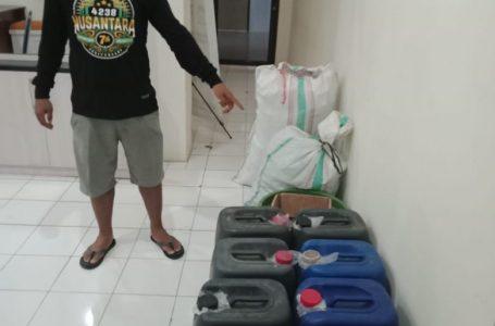 Polres Sumbawa Sita 100 Liter Miras Oplosan