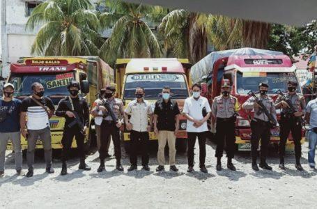 Bawaslu Sumbawa Kawal Distribusi Logistik Hari Pertama