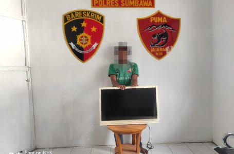 Bobol Rumah Kakak Kandung, Pemuda Asal Perate Diciduk