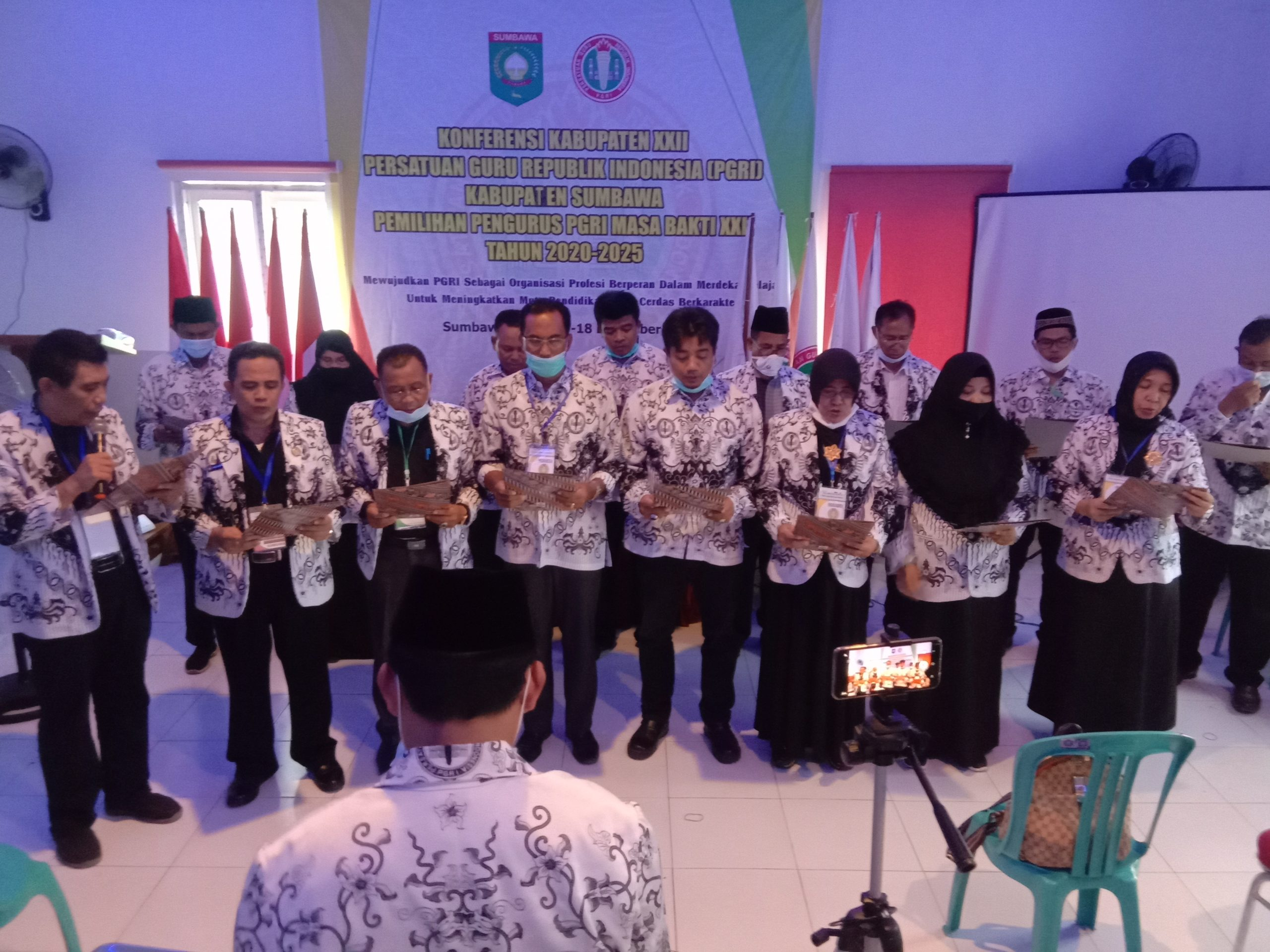 Ahmad Yani Nahkoda Baru PGRI Kabupaten Sumbawa