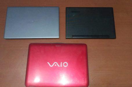 Gasak 3 Unit Laptop, Pemuda Asal Sepakat Ditangkap