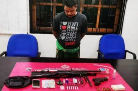 Tangkap Pengedar Sabu di Tarano, Polisi Temukan Senpi Rakitan Lengkap Amunisi