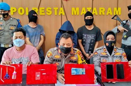 Polisi Tangkap Penjual dan Penyedia Tempat Hisap Sabu
