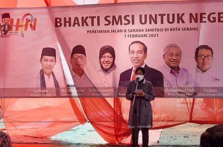 HPN 2021, Menteri Sosial Puji SMSI Bangun Peradaban