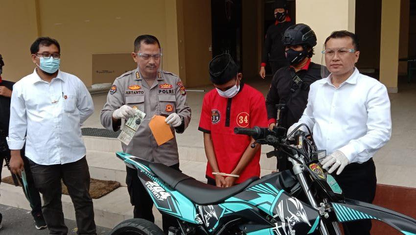 Jual Motor Curian untuk Biaya Nikah, Pria di Lombok Tengah ...