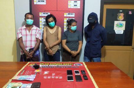 Oknum Polisi Tertangkap saat Pesta Sabu Bersama 1 Wanita 2 Pria