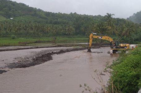 Mendangkal, Dam Ndolu Dinormalisasi