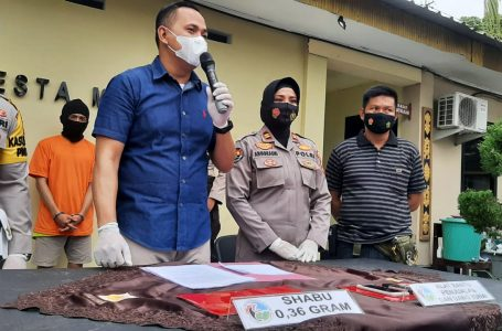 Edar Sabu, Buruh Harian di Dasan Agung Dicokok Polisi