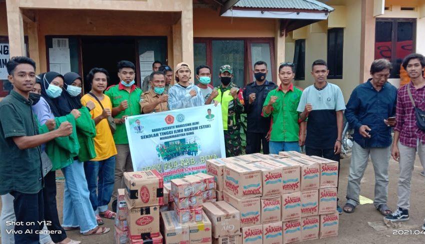 BEM STIH Muhammadiyah Salurkan Sembako untuk Korban Banjir