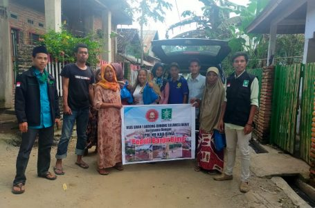 LPBI NU Salurkan Bantuan kepada Korban Banjir Bima
