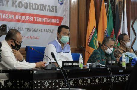 Cegah Korupsi, Gubernur Minta OPD Maksimalkan Koordinasi dengan KPK