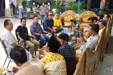 Jelang Musda, DPD Partai Golkar Kota Bima Menghadap Wali Kota