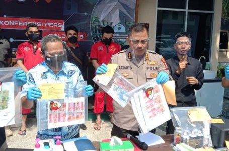 Gagalkan Peredaran Uang Palsu, Polda NTB Tangkap Pecatan Polisi dan Residivis