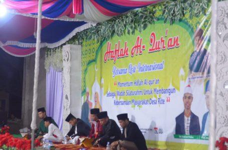 Haflah Al – Quran di Rite Hadirkan Sejumlah Qori Internasional