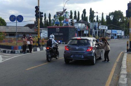 Lampu Merah di Simpang Karaci Sudah 2 Tahun Mati