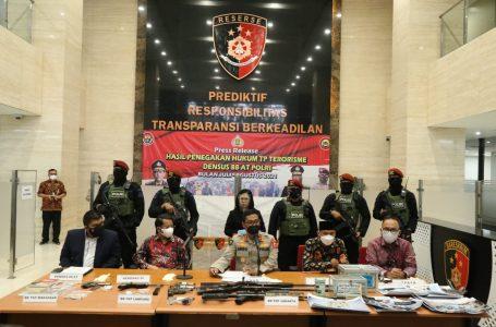 Tangkap 53 Terduga Teroris di 11 Provinsi, Polri Beberkan Sumber Pendanaan Kelompok JI