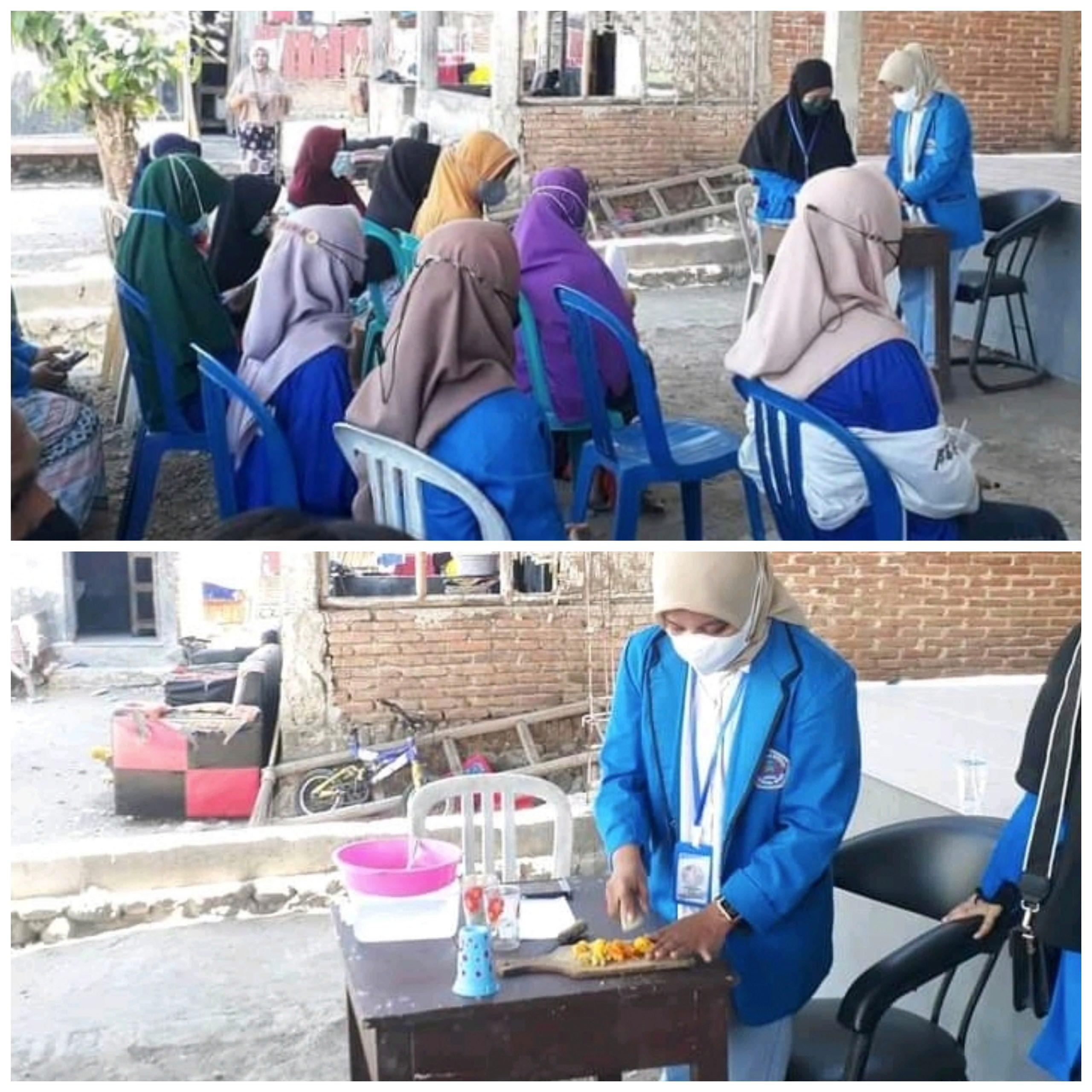 Mahasiswa KKN UNSA Ajari Warga Cara Bikin Minuman Herbal Ala Jokowi