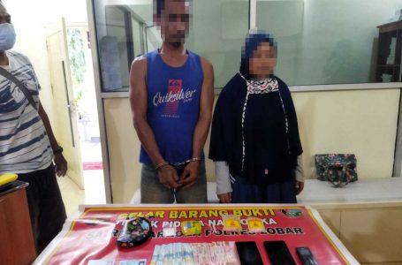 Tangkap Suami Istri Pengedar Narkoba, Polisi Temukan Sabu di Balik Bra