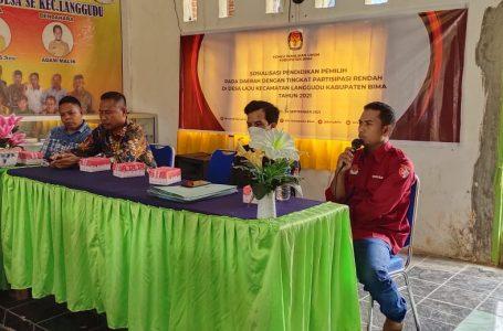 Genjot Partisipasi Masyarakat, KPU Bima Edukasi Warga Dua Desa