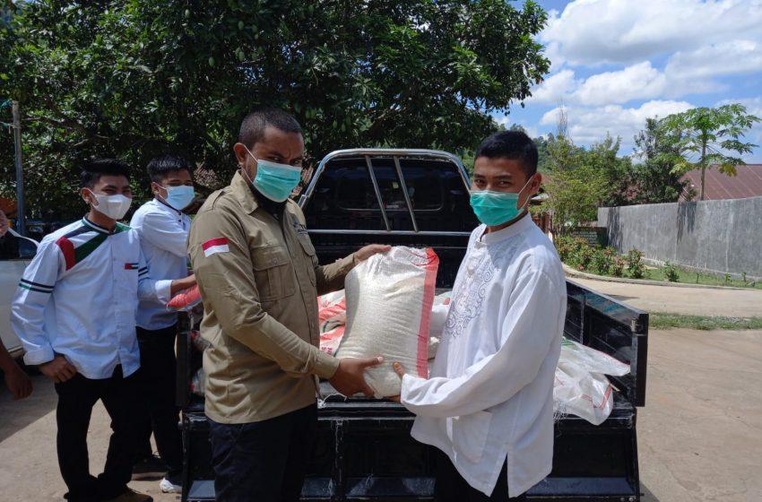 IJTI Sumbawa Barat Bagi-bagi Sembako Sasar Pedagang dan Pesantren