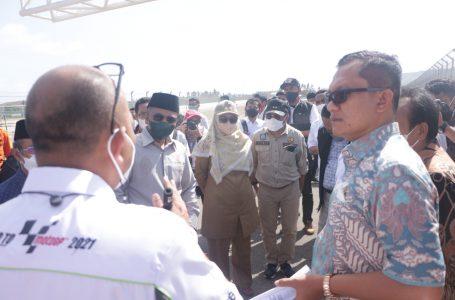 Anggota Komisi V DPR RI Tinjau Kesiapan Infrastruktur Jelang WSBK dan MotoGP