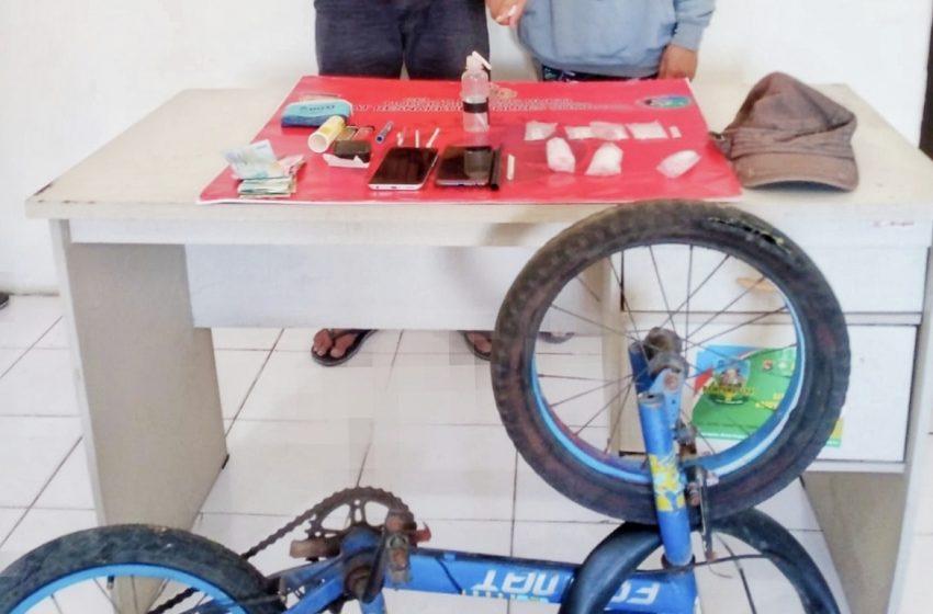 Tangkap Pengedar di Plampang, Ditemukan Sabu dalam Ban Sepeda